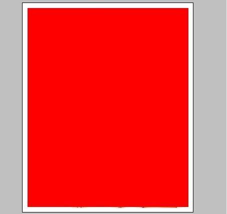 正方形边框素材红色